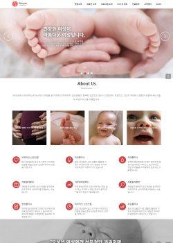 반응형 여성병원 eHospital24 (Women's Hospital) 워드프레스홈페이지